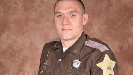 Howard County Deputy Carl Koontz was fatally shot during a gunfight March 20 while serving a warrant in Russiaville.