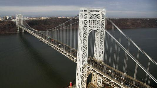 Federal investigators say allies of Republican Gov. Chris Christie shut down lanes at the George Washington Bridge in September 2013 in an act of political payback. (file photo)