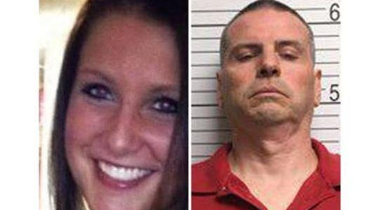 These photos show slain Indiana University student Hannah Wilson, 22, and the man accused of killing her, Daniel Messel, 49.