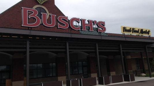 Interior demolition is occurring on the Busch's Fresh Food Market site in Canton.