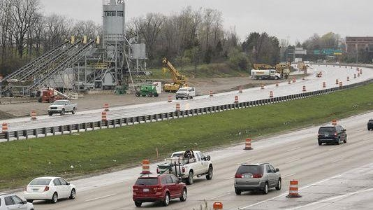 Work continues to be on schedule for the I-275 construction project one month in.