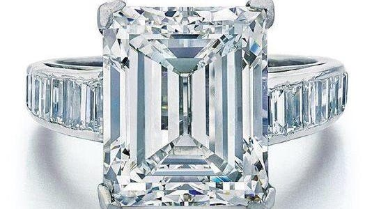 The Maples-Trump 7.45-carat diamond engagement ring sold Wednesday for $300,000.