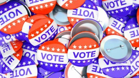Voting buttons.