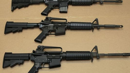 The Supreme Court gets another chance Thursday to consider bans on assault weapons.
