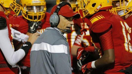 Palma High football coach Jeff Carnazzo has won 149 games as head coach of the Chieftains.