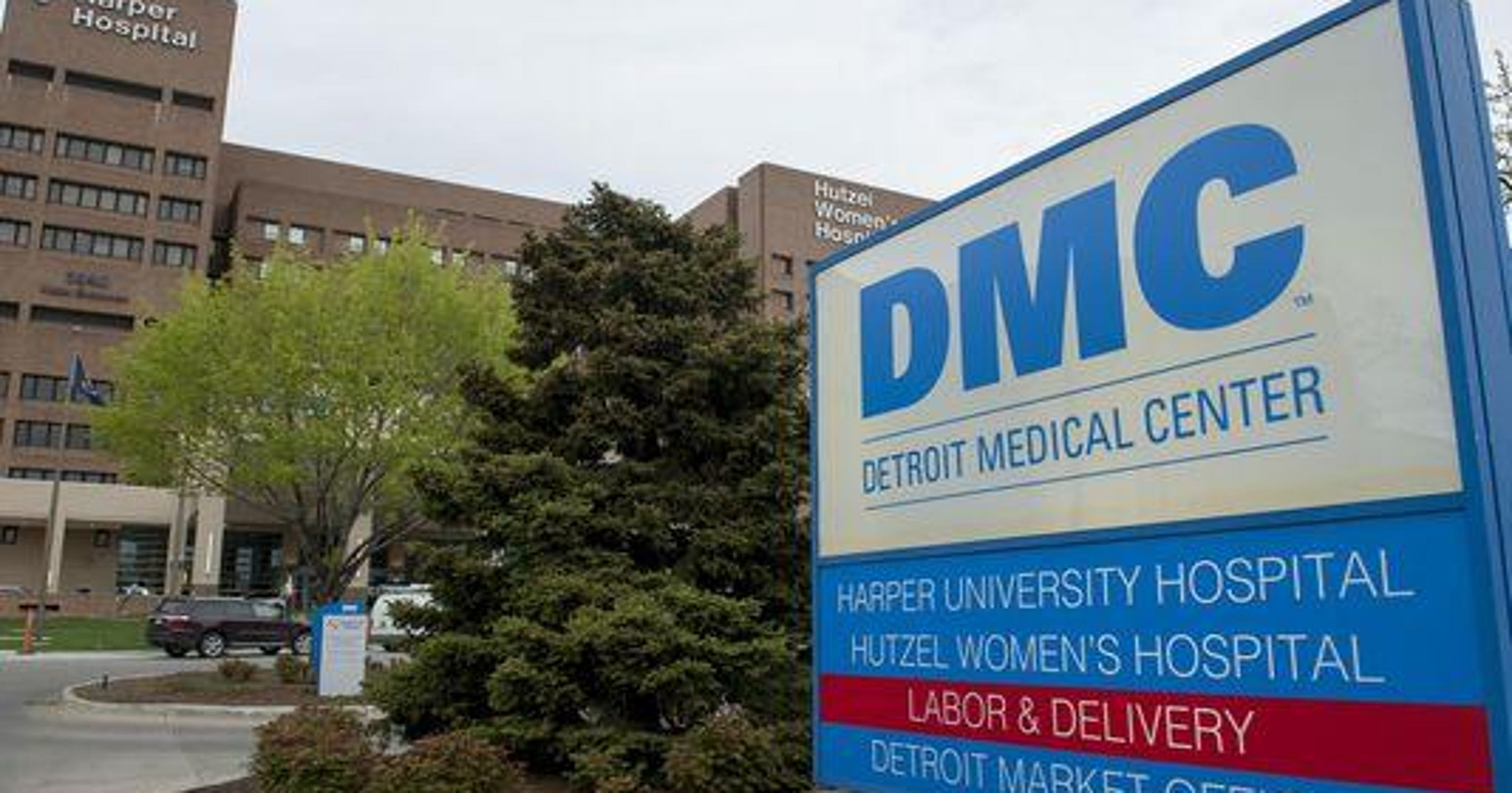 Dmc Hospital Downtown Detroit