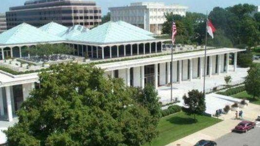The General Assembly in Raleigh.