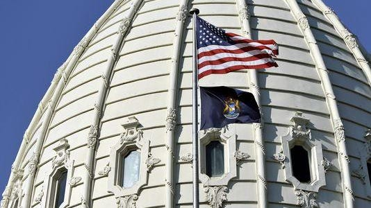 Capitol dome.