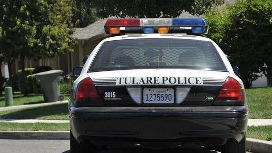 Tulare police car