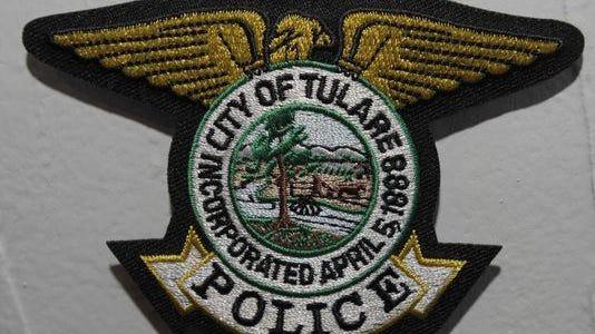 Tulare police logo