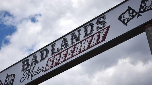 Badlands Motor Speedway Thursday, May 19, 2016, in Brandon.
