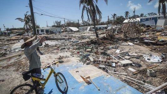 Hurricane Irma wreaked devastation in Florida.