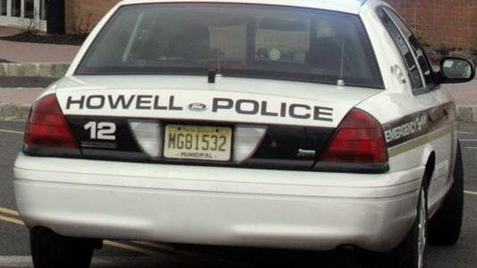 Howell Township Police Department cruiser.