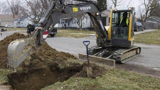 Flint officials say there are more damaged lead and galvanized water service lines buried than previously estimated as pipe replacement continues in the wake of the city's drinking water crisis.