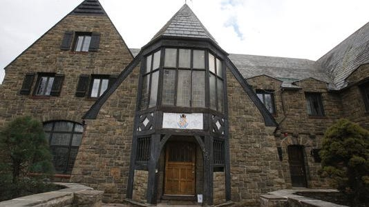 The Kappa Delta Rho fraternity house on Penn State's campus is pictured on Tuesday.