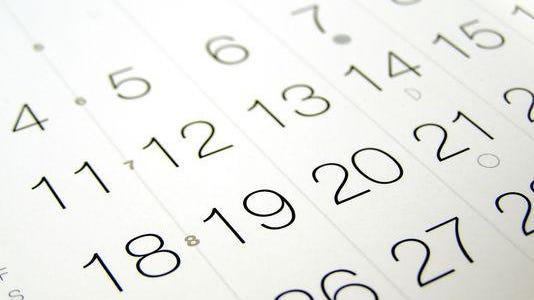 Calendar Claudio Divizia, Getty Images/iStockphoto