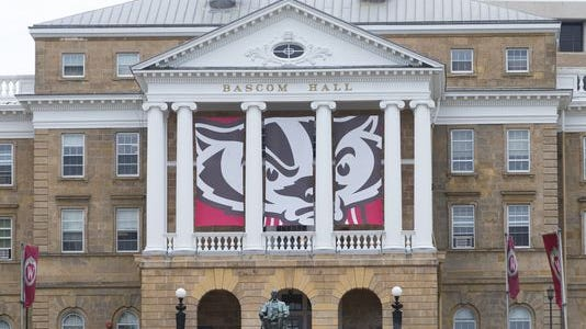 Bascom Hall is a stalwart on the University of Wisconsin-Madison campus.
