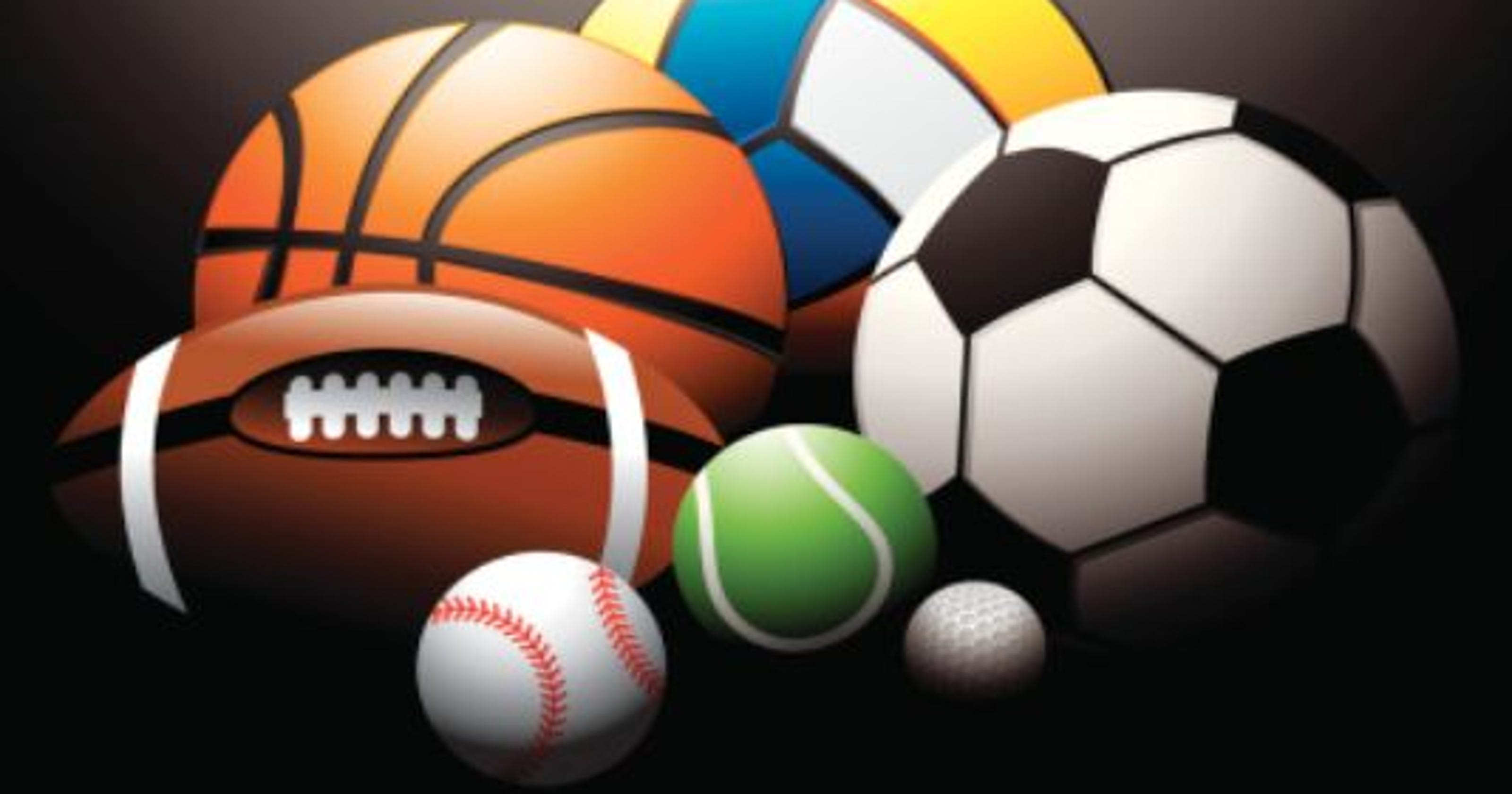 Sports Computer Wallpaper: Track, Volleyball, Golf, And Tennis Results For Wednesday