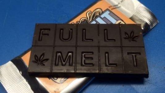 Edible marijuana.