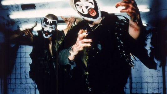 Insane Clown Posse is Shaggy 2 Dope (left) and Violent J.