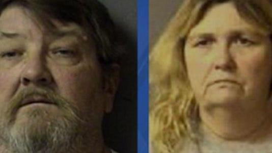 Steve Sells (left) and his wife, Joetta Sells
