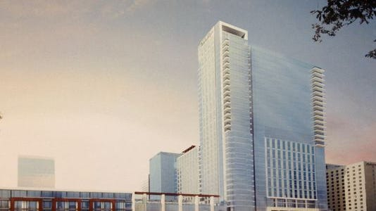 Groundbreaking for the Omni project is tentatively set for late this year or early 2016, with construction expected to take 24 to 26 months.