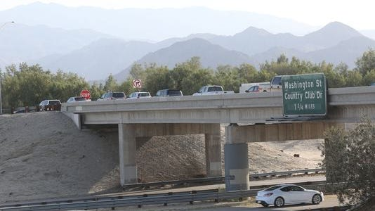 Traffic will be detoured onto Country Club Drive while the eastbound Interstate 10 off-ramp at Jefferson Street is demolished next month.