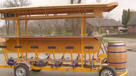 Party Bike Sioux Falls aims to bring a pedal pub like this one to Sioux Falls.