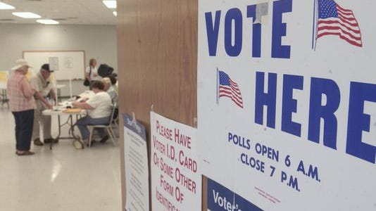 Polls for the Tuesday municipal election will open at 6 a.m. and close at 7 p.m.