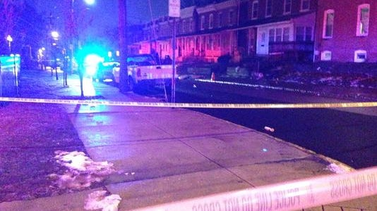 Wilmington police, shown investigating Monday night, on Tuesday identified the victim of a fatal shooting reported about 6:20 p.m. in the 200 block of W. 23rd St.