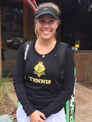 Sophie Aulicino of La Reina was named the best singles player in the Tri-Valley League.