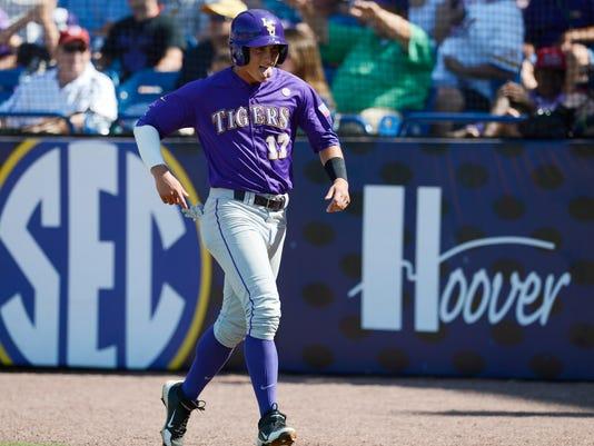 NCAA Baseball: SEC Tournament-LSU vs Vanderbilt