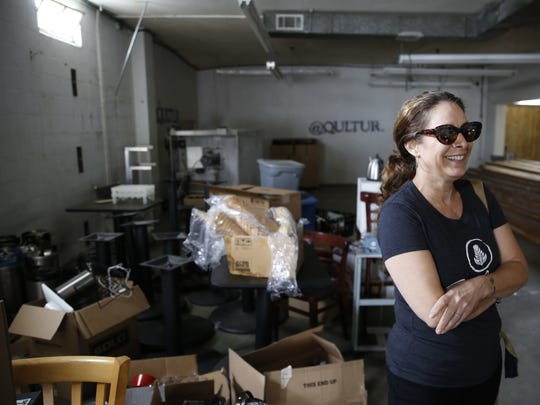 Catalina Cafe Co-Owner Patricia Allaire pictured Thursday,
