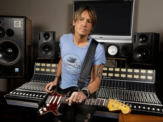 Keith Urban will perform May 27 at Indianapolis Motor