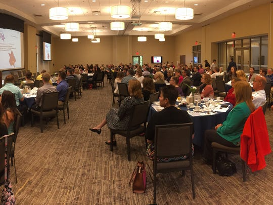 A room full of county leaders and residents attended the sixth annual Sandusky County Positive People Awards.