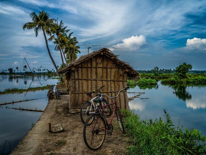 From Kadamakkudy, a small fishing village near Kochi