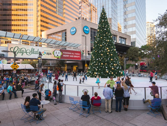 CitySkate at CityScape in downtown Phoenix is an annual