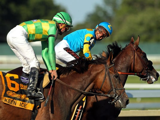 Keen Ice Takes Second To American Pharoah At Haskell