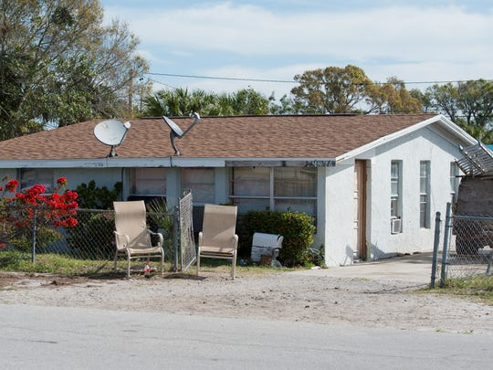 Indian River County Corrections Deputy Garry Chambliss collapsed in the driveway of his cousin Darrell Chambliss' house in the 4400 block of 28th Avenue after being struck by a bullet from nearby gunfire on Friday night in Gifford.  Garry Chambliss died from his injuries.