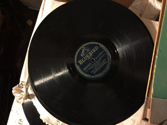 """This 78 of Glenn Miller's """"Let's Have Another Cup of"""
