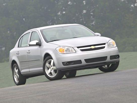 A 2005 Chevrolet Cobalt.