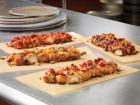The Domino's Specialty Chicken dish lets customers order pizza toppings on chicken instead of crust.