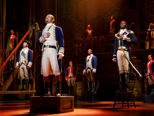 Joseph Morales leads the second national tour of Hamilton as Alexander Hamilton.