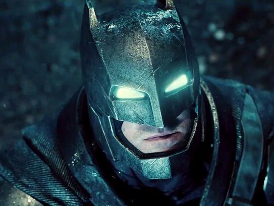 """Ben Affleck stars as the Dark Knight in """"Batman v."""