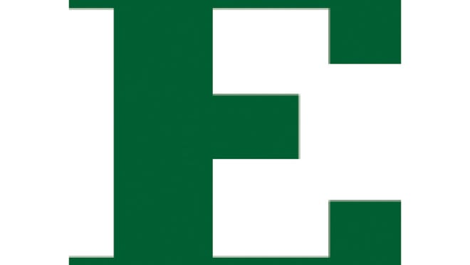 Eastern Michigan University's new logo that replaces the one with the Eagle.