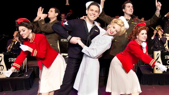 """The 1940s musical revue, """"In the Mood,"""" will be performed April 1 at the Plaza Theatre, Downtown."""