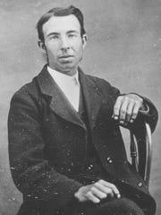 """Portrait of Wilson """"Snowflake"""" Bentley in the 1880s,"""