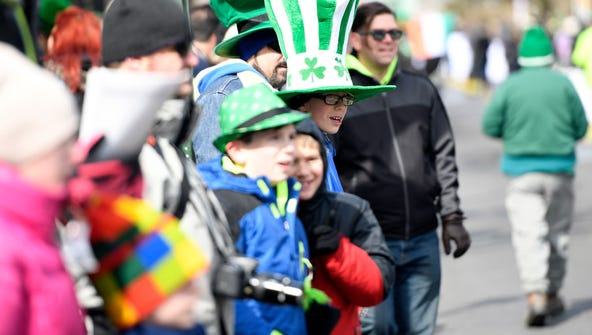 Bergenfield's annual St. Patrick's Day Parade held