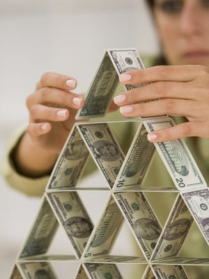 Multi-level marketing companies are sometimes compared to pyramid schemes.