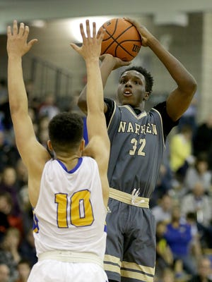 Mack Smith (right) and Warren Central have a tough opening round matchup against Lawrence North.